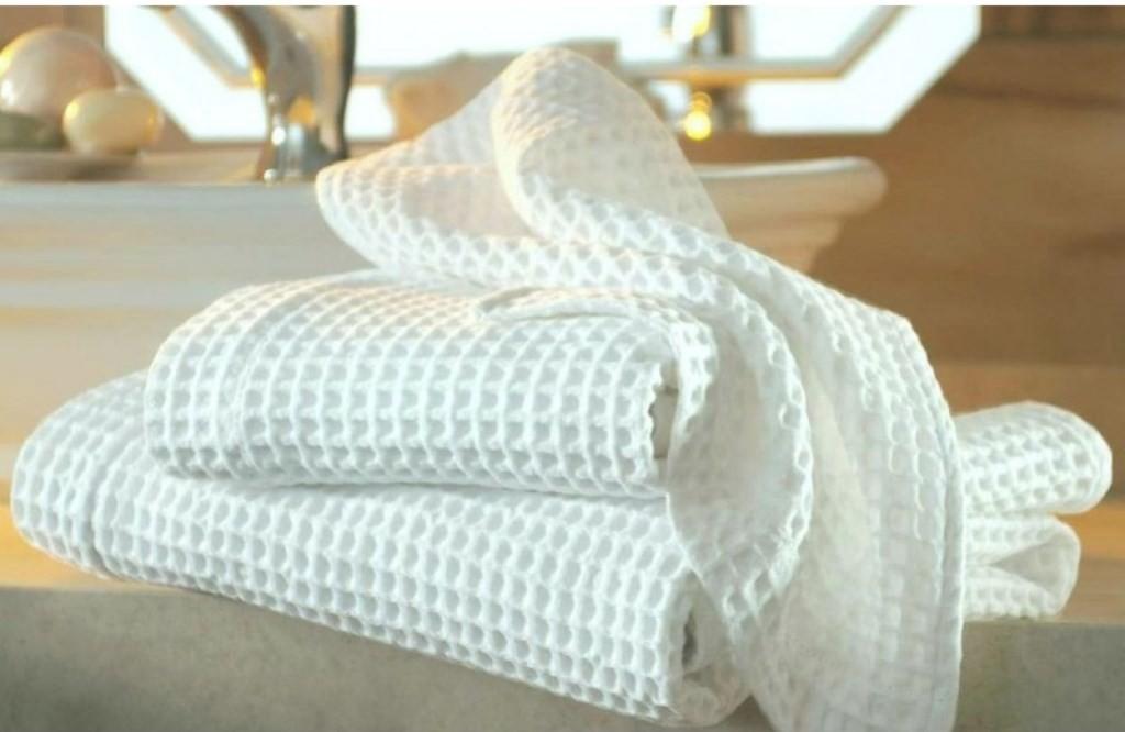 Купить вафельное полотенце 240г/м² гост, 45см (60 пог. М) в спб.